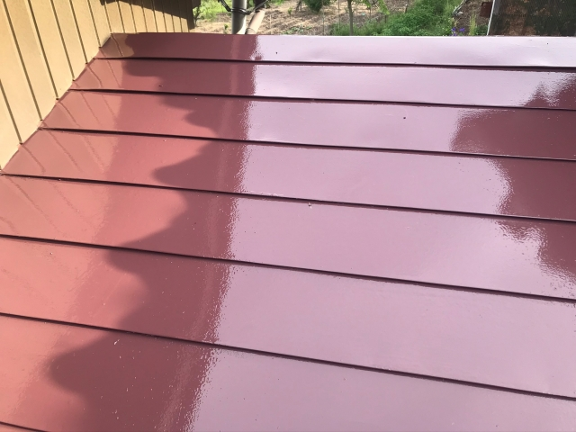 屋根塗装 長野